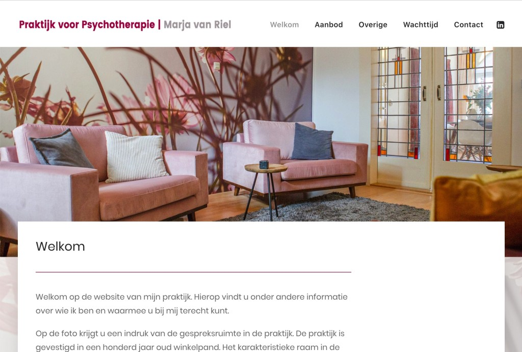 Website Marja van Riel